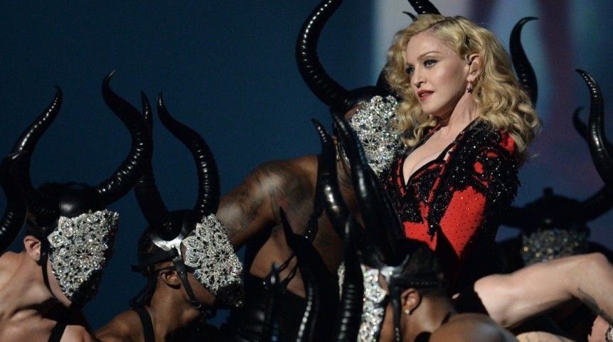 Madonna at the Grammy's